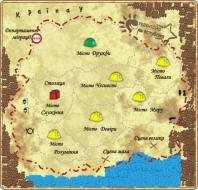 Карта Студентської республіки